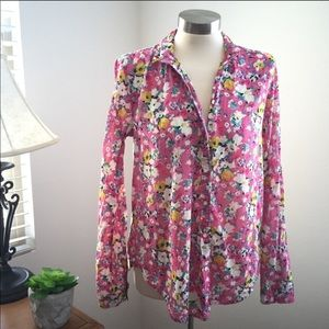 Anthropologie Holding Horses Floral Button Down 6